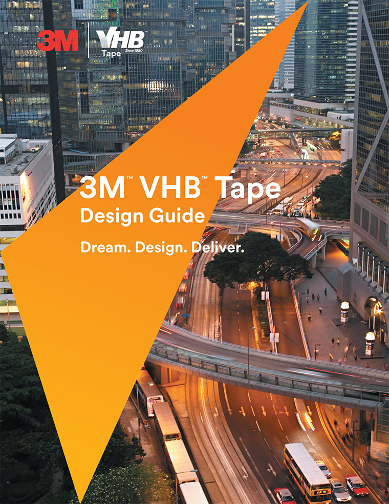 Image of 3M VHB Design Guide cover