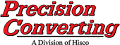 Logo for Precision Converting: A Division of Hisco