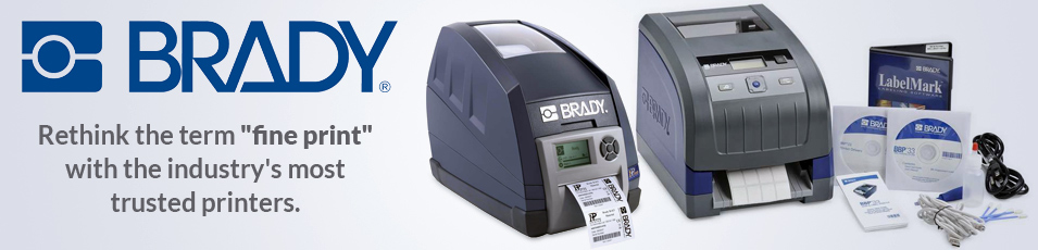 Brady Printers and Labels