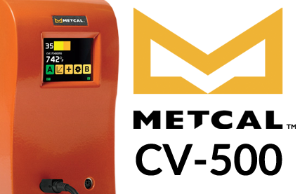 Metcal CV-500 Soldering System - Connection Validation for Less