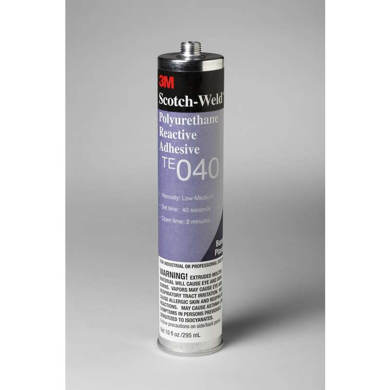 3M™ Scotch-Weld™ PUR Easy Adhesive TE-040 Off White, 1/10 gal Cartridge, 5 per case, Applicator Needed