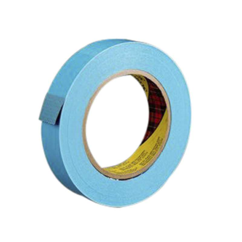 Scotch(R) Strapping Tape 8898 Blue, 18 mm x 55 m, 48 rolls per case
