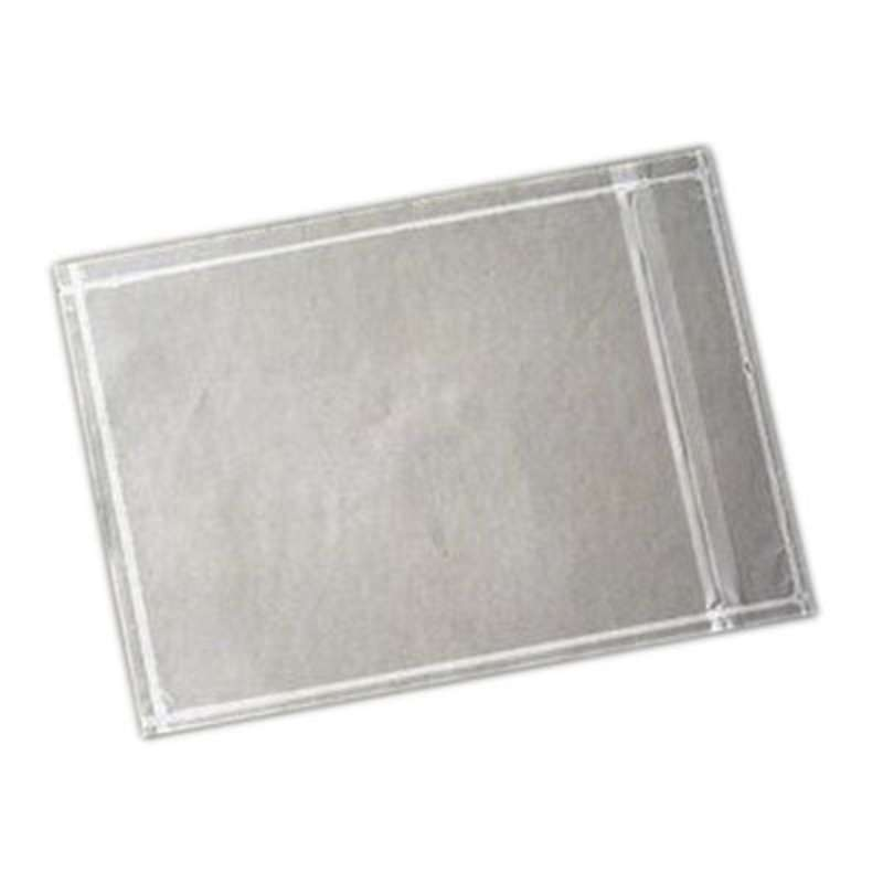 3M™ Non-Printed Zipper Closure Packing List Envelope NPZ-L Clear, 8-1/2 in x 11-1/2 in, 500 per case