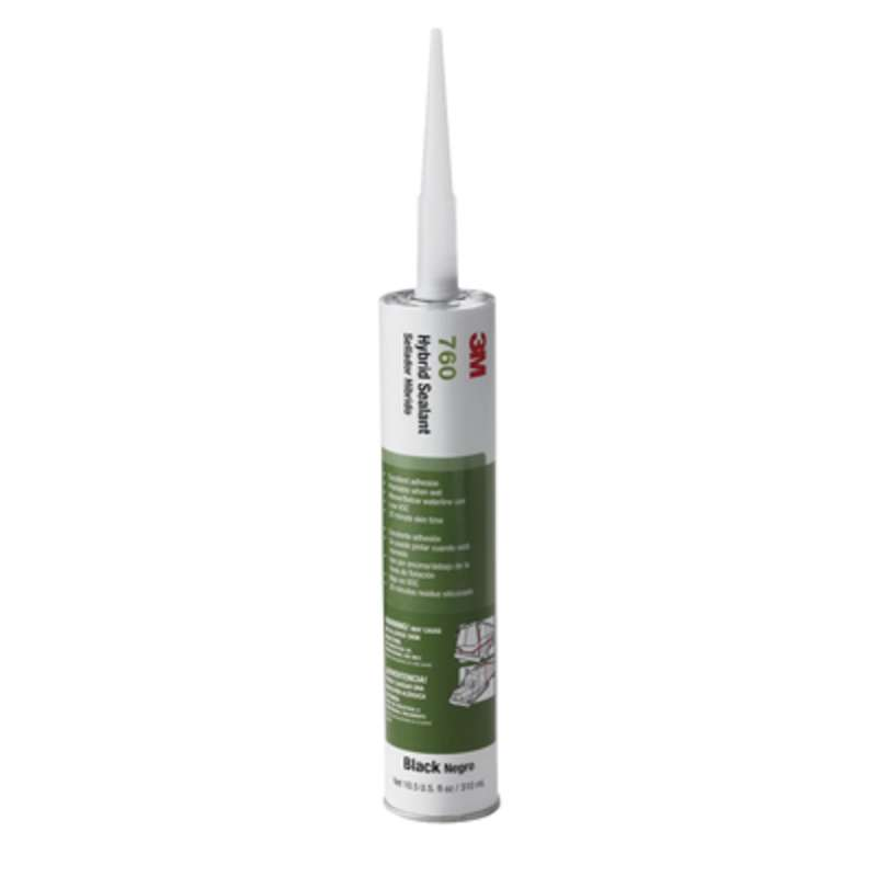 3M™ Adhesive Sealant 760 UV, Gray, 290 mL Cartridge, 12/case