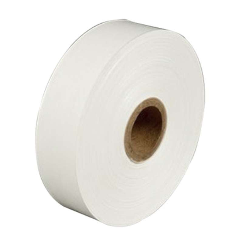 3M™ Water Activated Paper Tape 6142 White Medium Duty, 3 in x 600 ft, 10 rolls per case Bulk