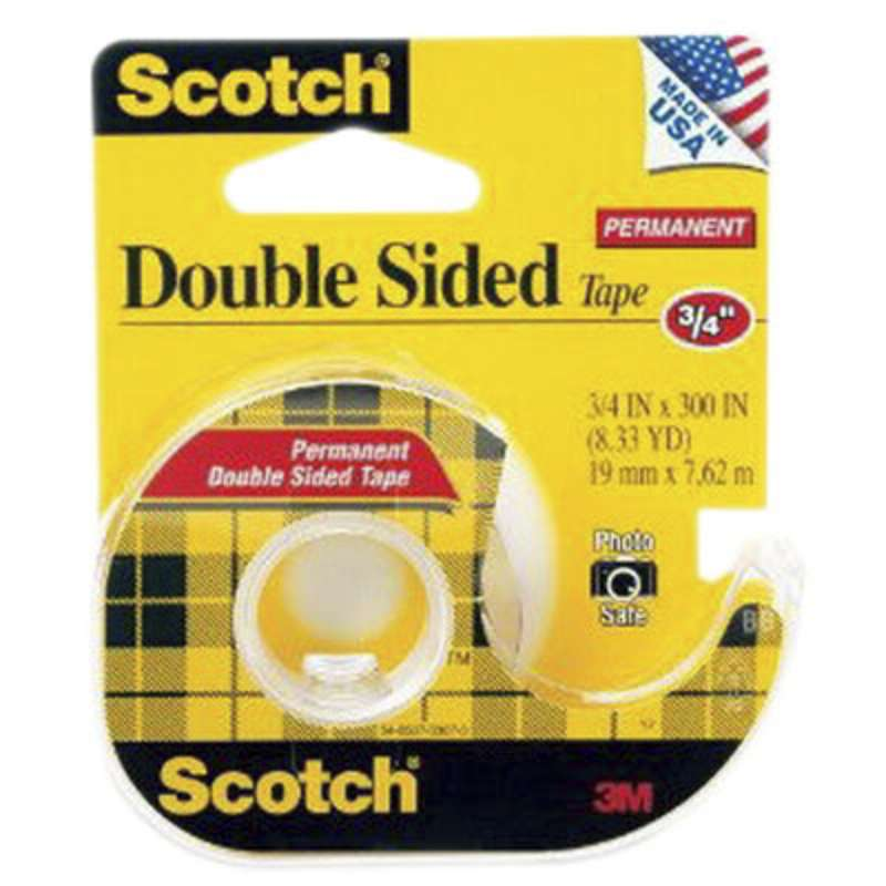 scotch r magic double sided tape 237 3 4 in x 300 in x