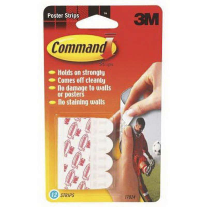 Command™ Small Poster Strips Value Pack 17024-TVP