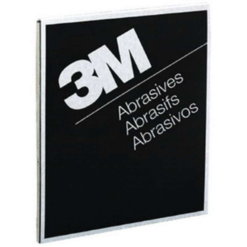 3M™ Wetordry™ Abrasive Sheet 413Q, 02000, 9 in x 11 in, 600A, 50 sheets per box, 5 boxes per case