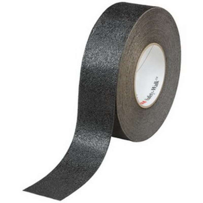 3M™ Safety-Walk™ Slip-Resistant General Purpose Tapes and Treads 610, Black, 4 in x 60 ft, Roll, 1/case