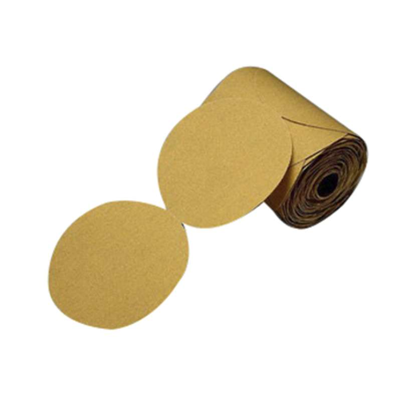 3M™ Production™ Resinite™ Gold Sheet, 02541, 9 in x 11 in, P320A, 50 sheets per sleeve, 5 sleeves per case