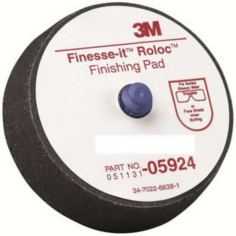 3M™ Finesse-it™ Roloc™ Finishing Pad, 05924, 3 in, 12 per bag, 5 bags per case