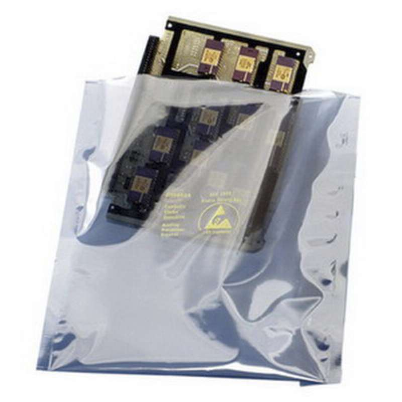 Series 1500 Metal-Out Open Top Static Shielding Bag, 6 in x 10 in, 3 mil, 100 EA per Pack