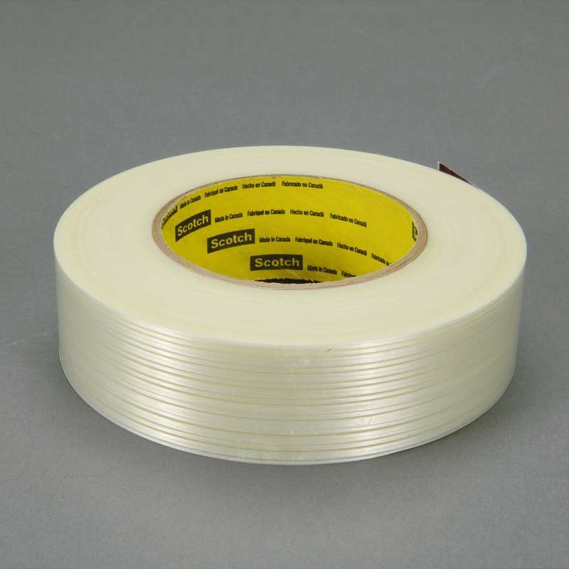 Scotch® Filament Tape 8916V Clear, 36 mm x 55 m, 24 rolls per case