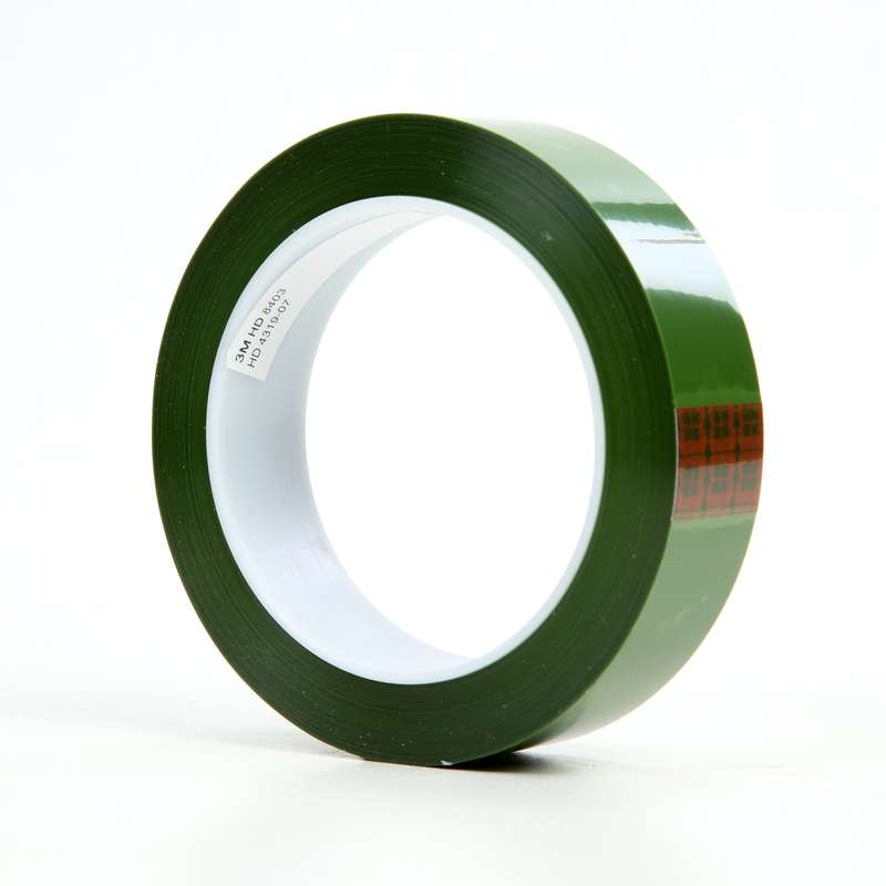 3M™ Polyester Tape 8403, Green, 1 in x 72 yd, 2 4 mil, 36