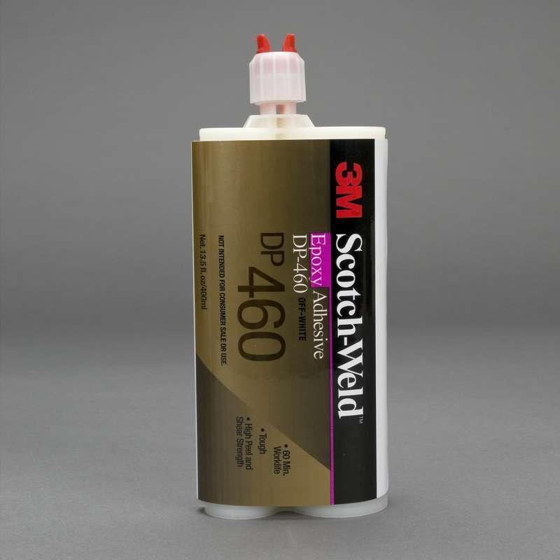 3M™ Scotch-Weld™ Epoxy Adhesive DP460 Off-White, 400 mL, 6