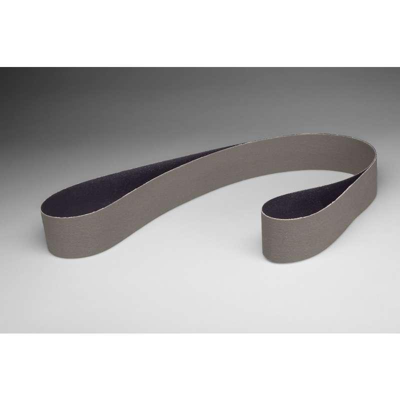 Film-lok Full-flex 3 in x 132 in A45 X-weight 3M Trizact Cloth Belt 237AA