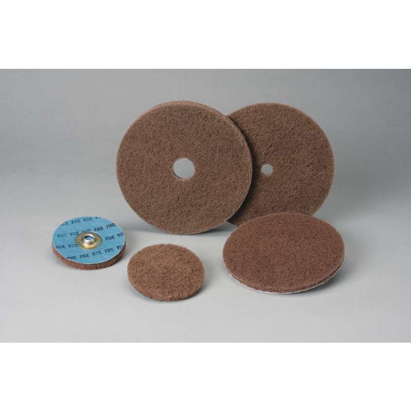 5 in x 2 Ply x 1//4 in A VFN 1 Case Standard Abrasives Buff and Blend GP Wheel 880915 5//Case