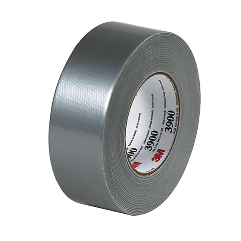 3M™ Multi-Purpose Duct Tape 3900 Silver, 48 mm x 54.8 m 7.7 mil, 24 per case Individually Wrapped