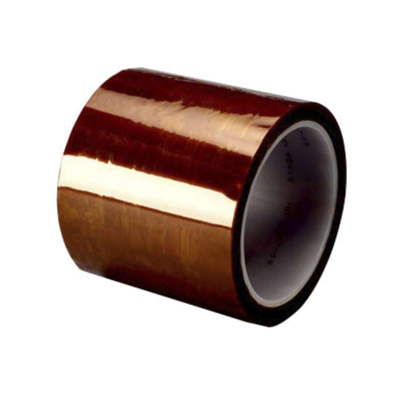 "Kapton® 500°F Hi-Temp 2.7 Mil Polyimide Tape on 3"" Plastic Core, 1"" x 36yd"