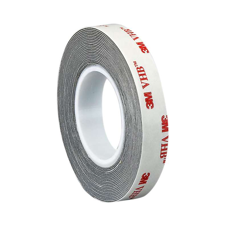 "3M™ VHB™ RP16F Gray Tape, 1"" x 36 yd x 16 mil, 9 rolls per case  Bulk, Restricted"