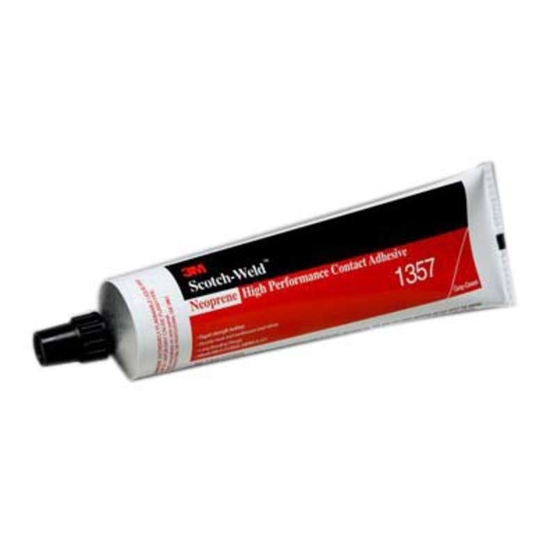3M™ Neoprene High Performance Contact Adhesive 1357 Gray-Green, 5 Ounce Tube, 36 per case