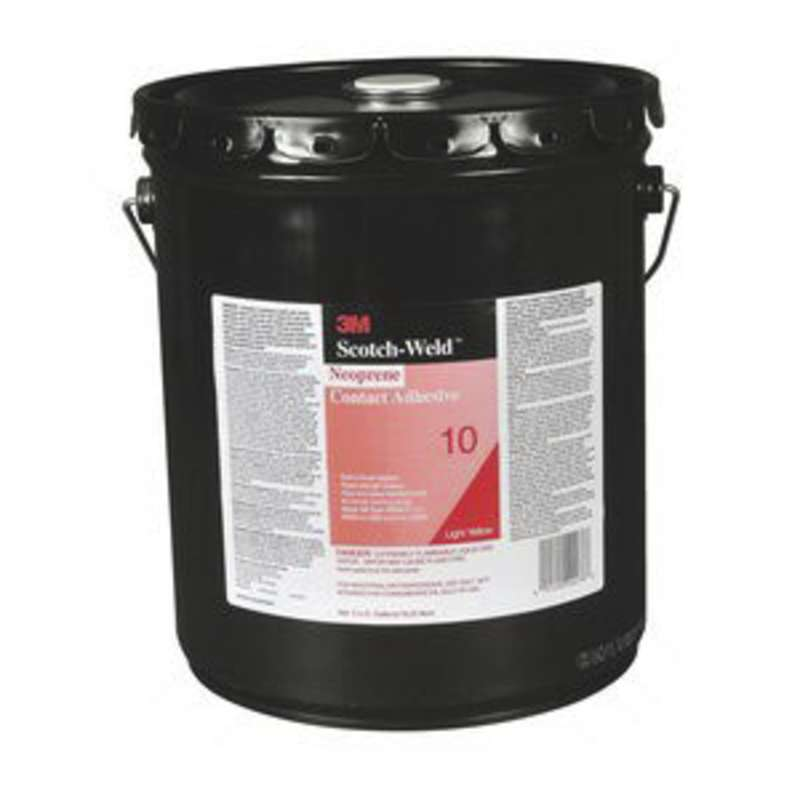 3M™ Scotch-Weld™ Neoprene Contact Adhesive 10 Light Yellow, 5 gal Pail Pour Spout, 1 per case