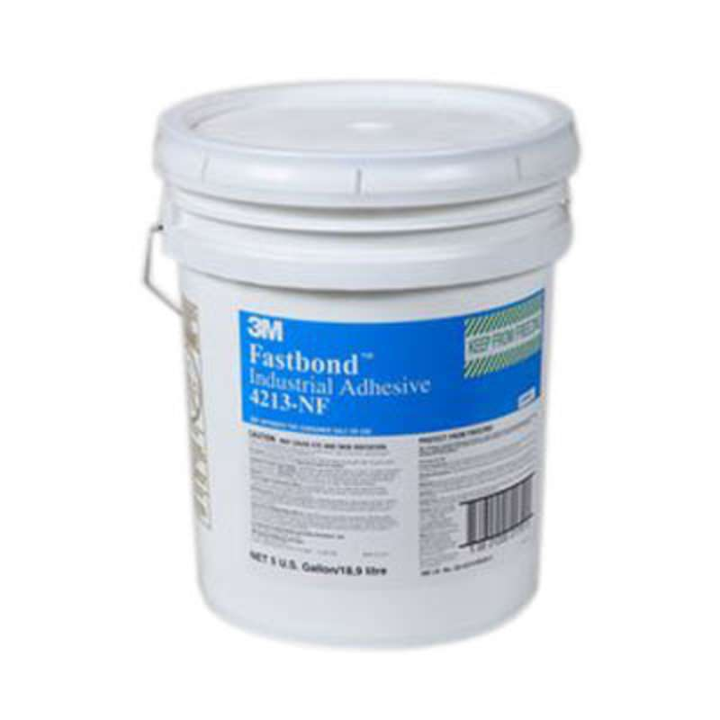 3M™ Fastbond™ Industrial Adhesive 4213NF White, 5 gal pail ...