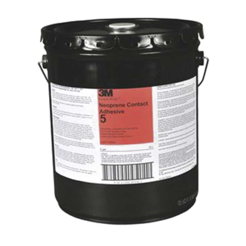 3M™ Scotch-Weld™ Neoprene Contact Adhesive 5 Green, 5 Gallon Pail, 1 per case