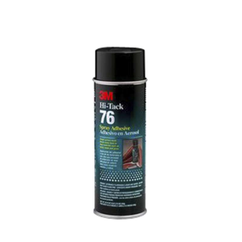 3M™ Hi-Tack 76 Spray Adhesive Clear, Net Wt 18.1 oz, 12 cans per case