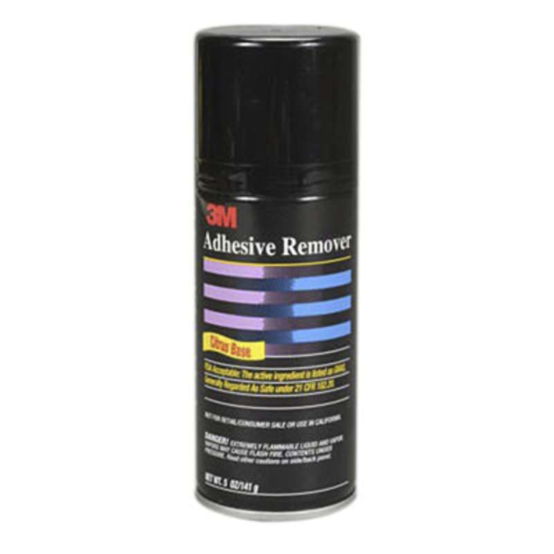 3M™ Adhesive Remover 6040 Pale Yellow, Net Wt 5 oz, 6 per case, Not for Retail/Consumer sale or use in CA & other states. Consult local air quality rules before use.