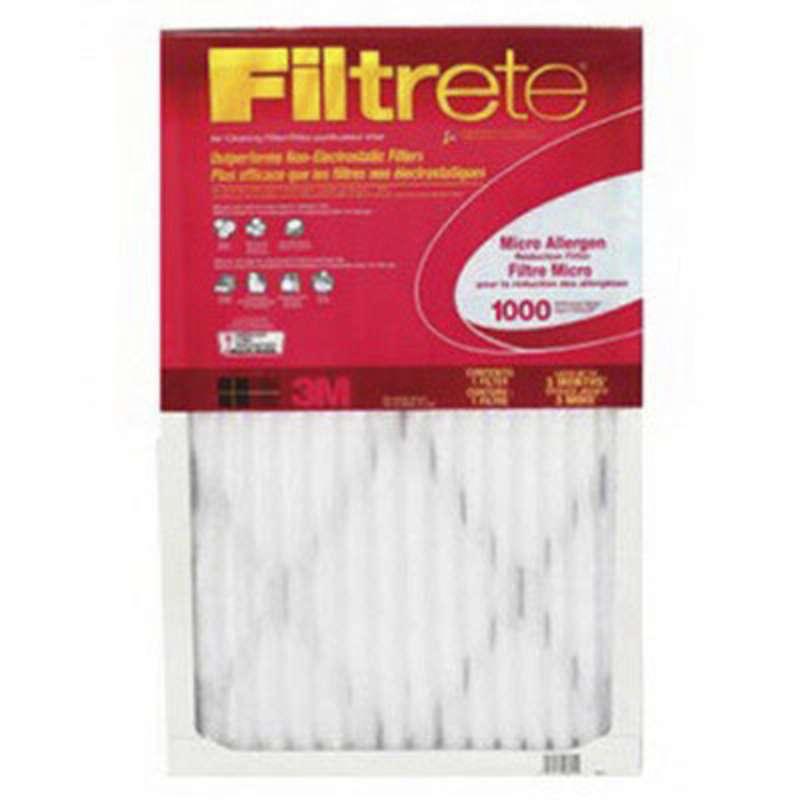 Filtrete™ Micro Allergen Filter 9810DC-6 12 in x 12 in x 1 in