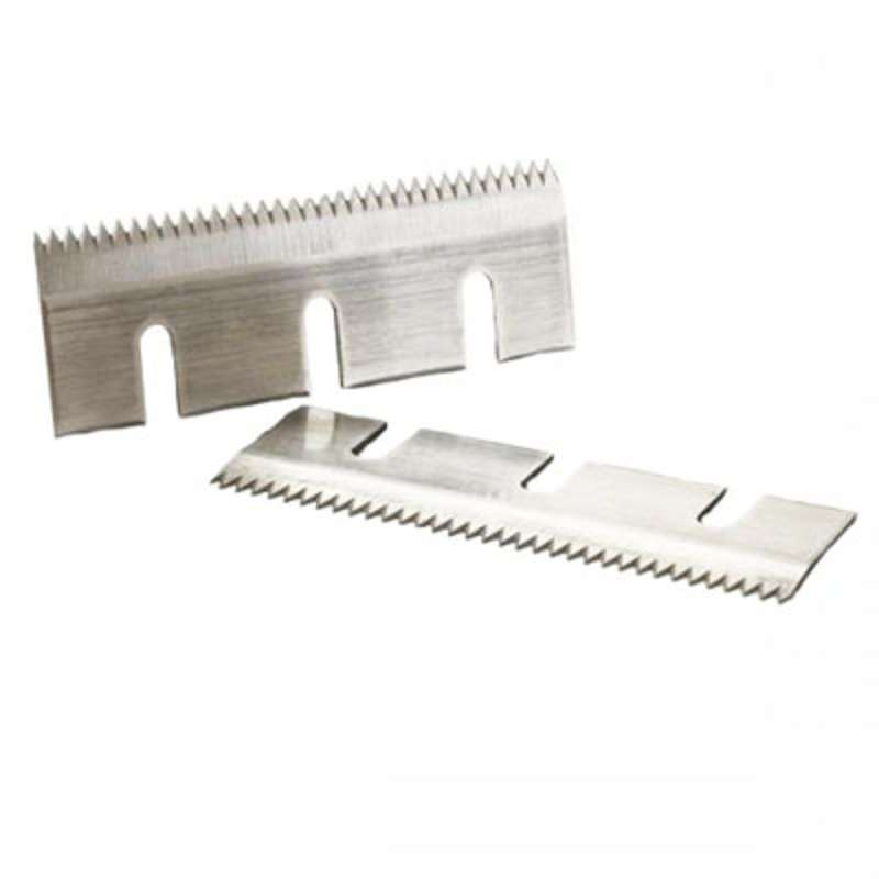 Corrugated Carbon Steel Blade, For 3 in Taping Head