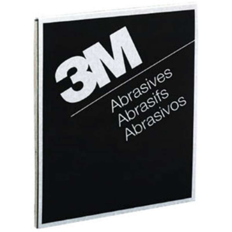 3M™ Wetordry™ Abrasive Sheet 413Q, 02002, 9 in x 11 in, 400A, 50 sheets per box, 5 boxes per case
