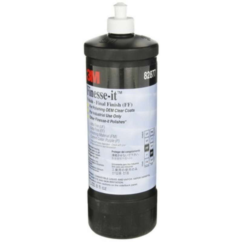 3M™ Finesse-it™ Final Finish 82877 Gray, Easy Clean Up, Liter, 12 per case