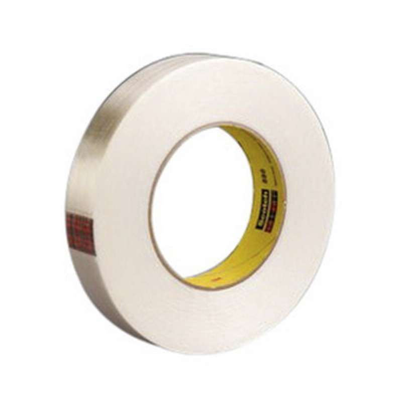 Scotch(R) Filament Tape 898 Clear, 18 mm x 330 m, 8 per case