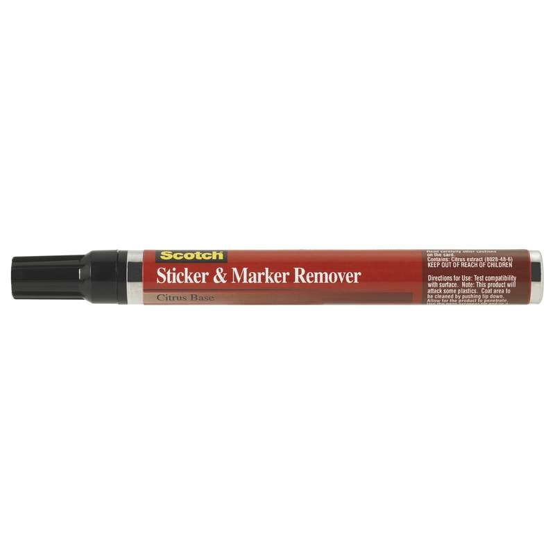 Scotch(R) Sticker & Marker Remover 6042, 12 per case, Not for Retail/Consumer sale or use in CA & other states. Consult local air quality rules before use.