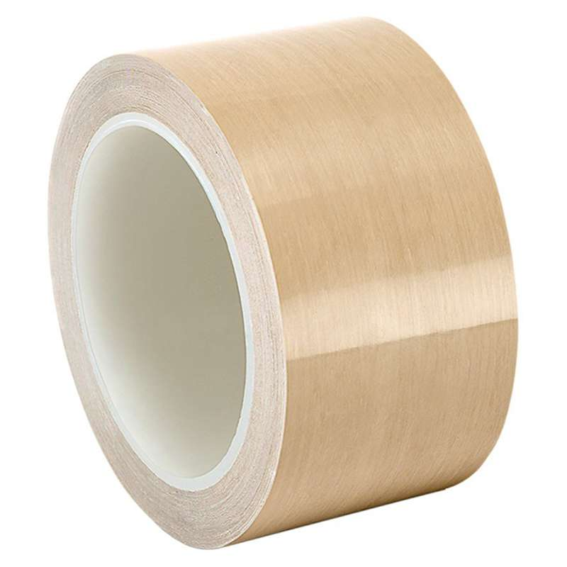 3M™ PTFE Film Tape 5498, Beige, 1/2 in x 36 yd, 4.2 mil, 72 rolls per case