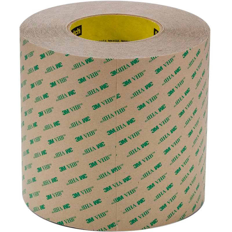 3M™ VHB™ Adhesive Transfer Tape F9473PC Clear, 0.5 in x 60 yd 10 mil, 18 rolls per case