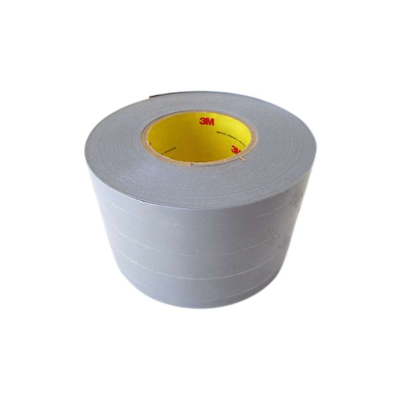3M™ Polyurethane Protective Tape 8681HS 36320 Light Gray Non-Skip Slit, 2 in x 36 yds, 6 per case