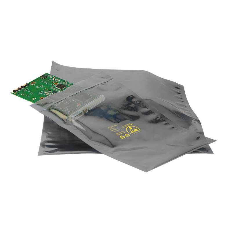 """1000 Series 2.8mil Zip Top Metal-In Static Shielding Bag, 8 x 12"""", 100 per Package"""