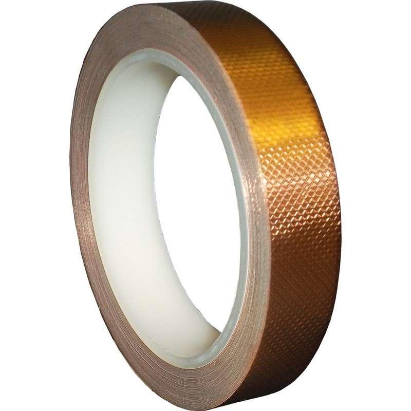 3m 1245 Series 4 Mil Emi Shielding Embossed Copper Tape 1