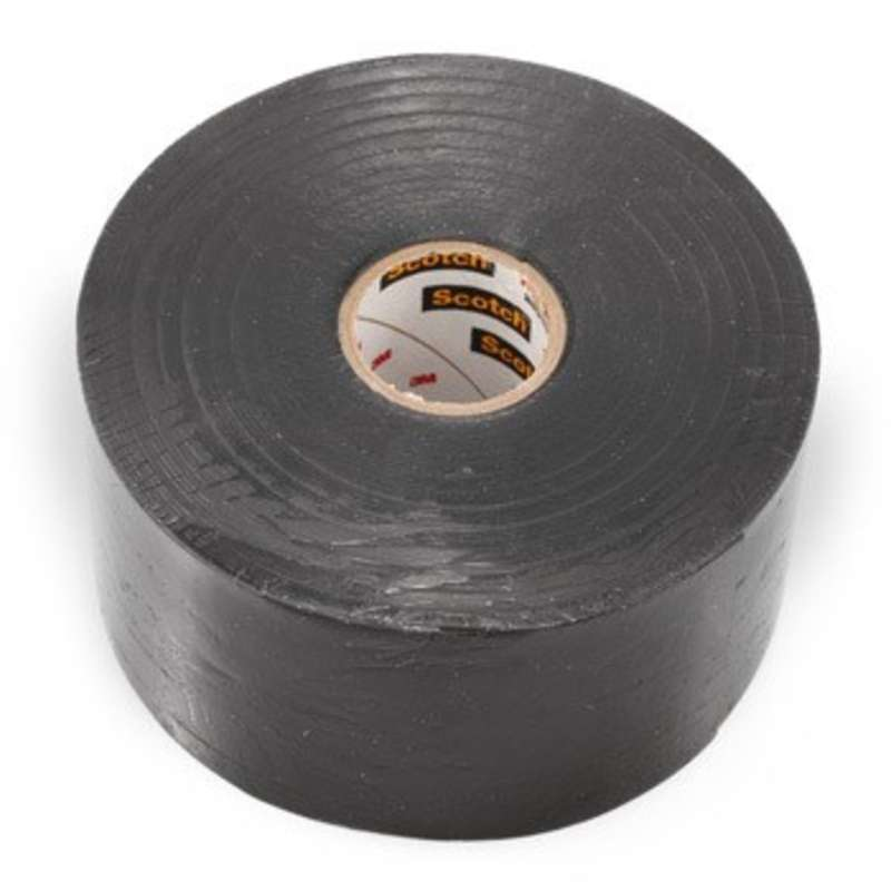 "130C Series 30 mil Scotch™ Linerless Rubber Splicing Tape, 1-1/2"" x 30'"