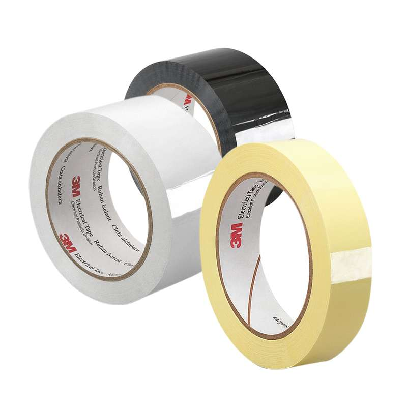 3M Polyester Film Electrical Tape 1350F-1, Yellow, 0.787in x 72yds, 1 roll minimum