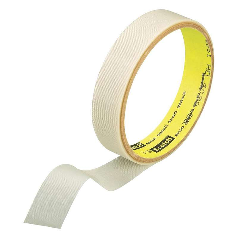3M™ Glass Cloth Tape 361 White, 2 in x 60 yd 7.5 mil, 24 per case Bulk