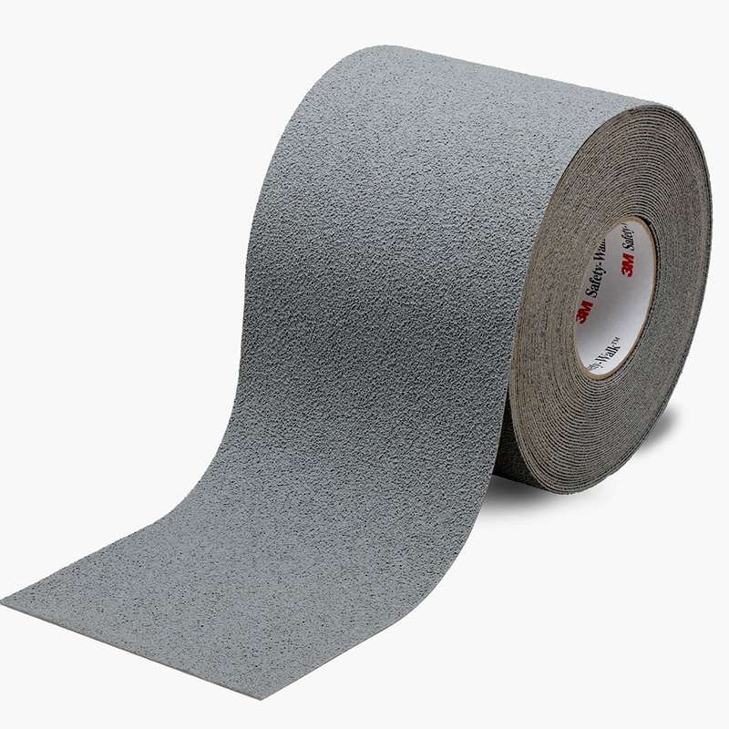 3M™ Safety-Walk™ Slip-Resistant Medium Resilient Tapes and Treads 370, Gray, 1 in x 60 ft, Roll, 4/case