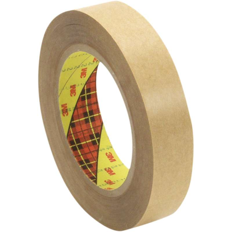3M™ Double Coated Tape 415 Clear, 18 in x 36 yd 4.0 mil, 1 roll per case Bulk