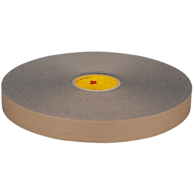 3M™ Urethane Foam Tape 4318 Charcoal Gray, 1 in x 36 yd, 9 per case