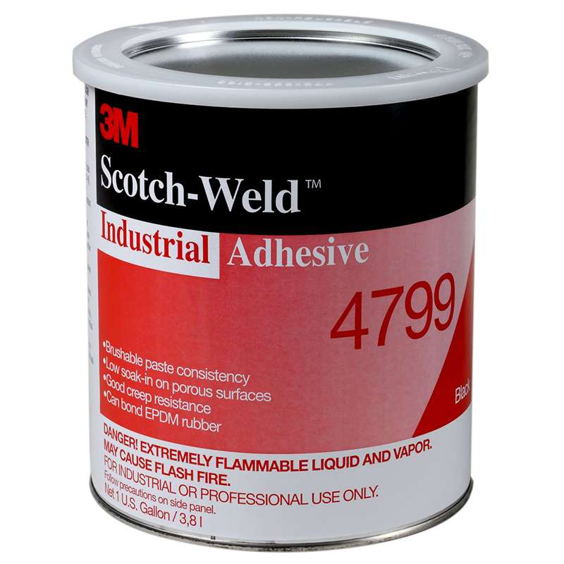 3M™ Industrial Adhesive 4799 Black, 1 Quart, 12 per case