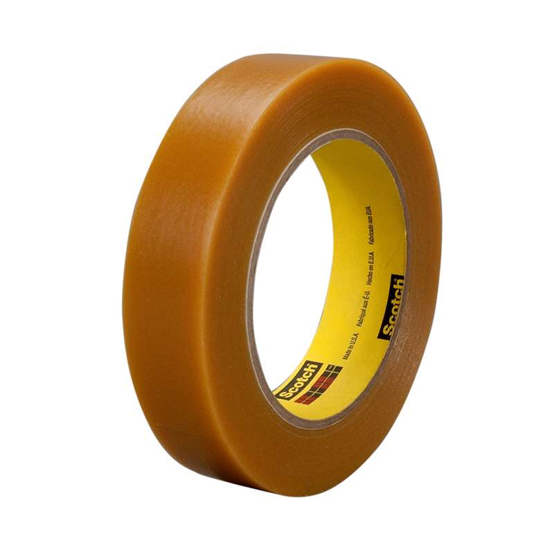 3M™ Electroplating/Anodizing Tape 484 Tan, 1 in x 36 yd 7.2 mil, 36 per case Bulk