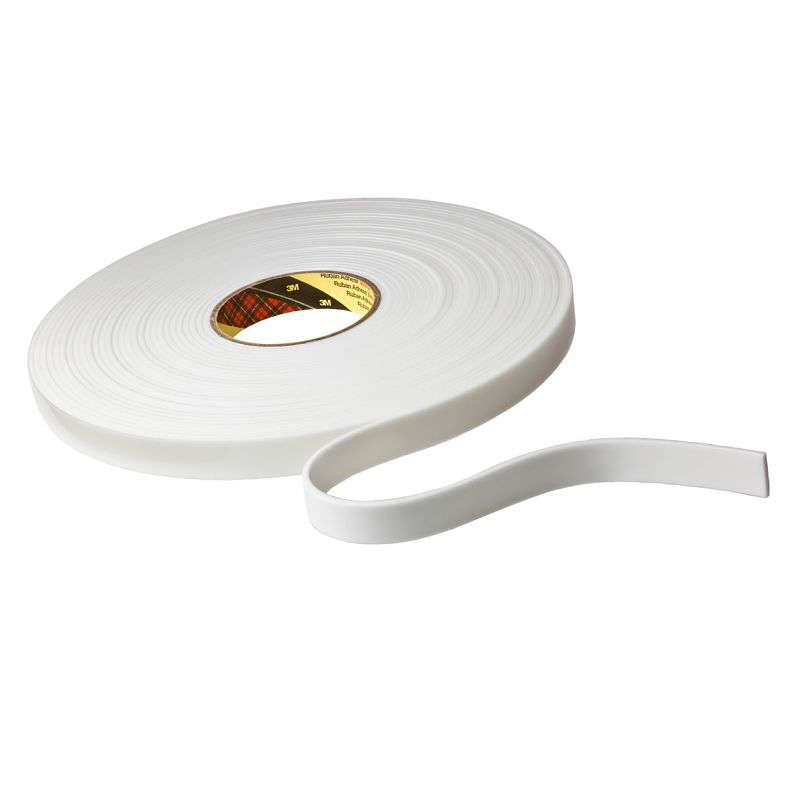 "3M™ VHB™ 4959 White Tape, 3/4"" x 36 yd 120, 12 per case"